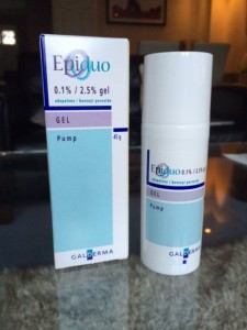 Epiduo acne cream side effects