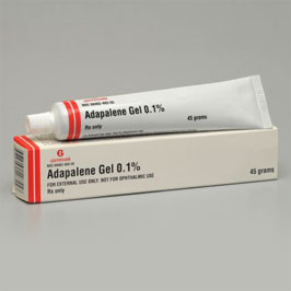adapalene acne treatment